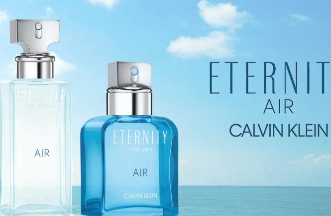 Calvin Klein releases ETERNITY AIR duo fragrances 2018