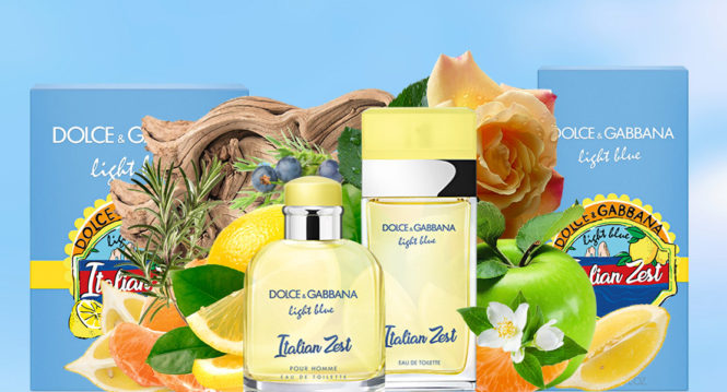 Light Blue Italian Zest, new fragrance Dolce & Gabbana 2018