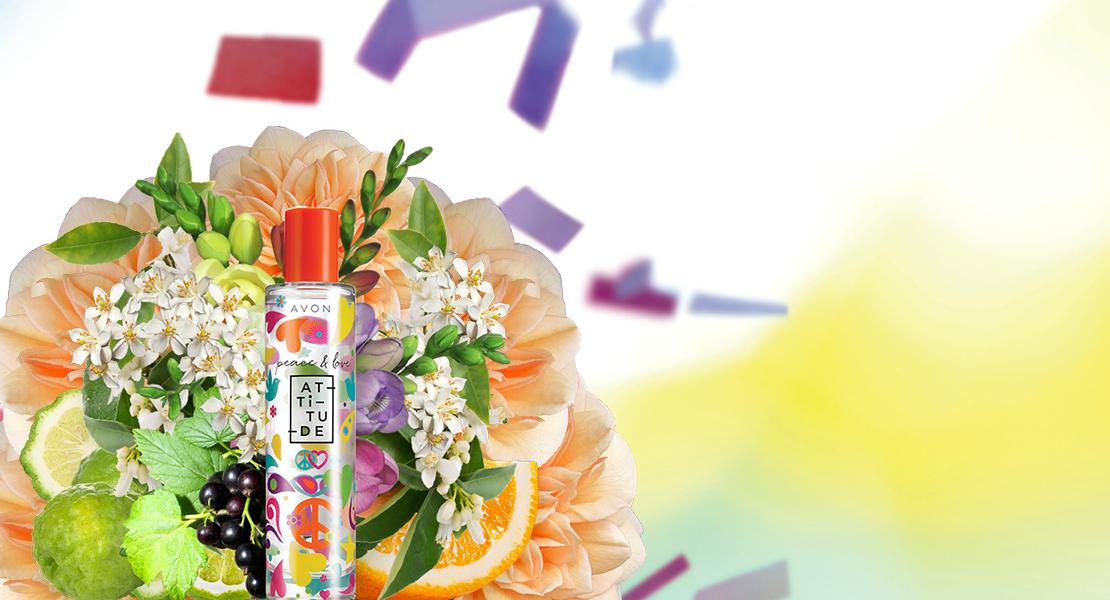 New Avon Peacelove Attitude Fragrance Reastars Perfume And Beauty