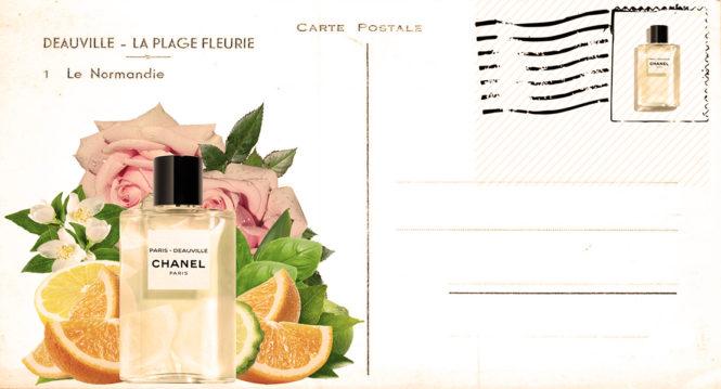 Paris-Deauville - new solar fragrance with Mediterranean spirit