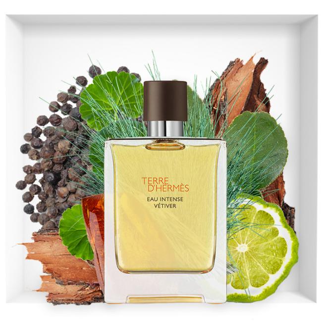 Terre d'Hermès Eau Intense Vétiver new fragrance 2018