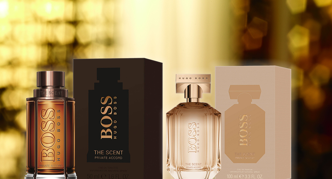 boss the scent for him private accord
