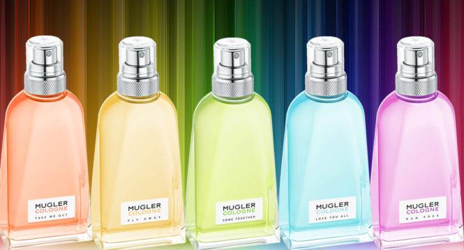 New Mugler Cologne Rainbow Collection at Reastars.com