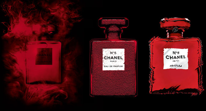 Chanel New Limited Edition N°5 Red Edition