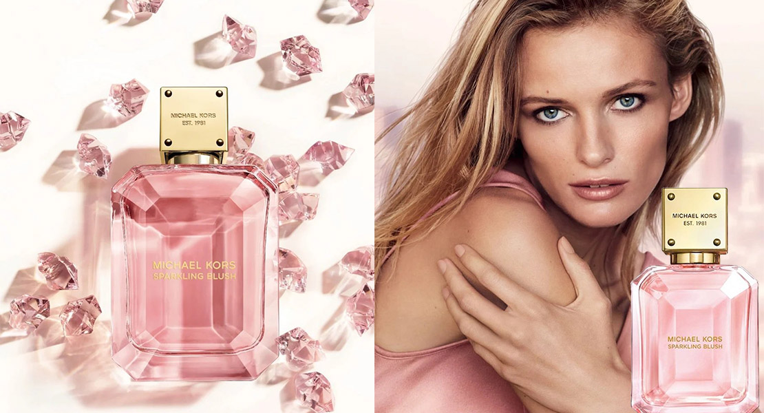 Michael Kors Sparkling Blush new fragrance – Reastars Perfume and Beauty  magazine