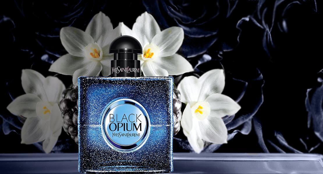 Afbeeldingsresultaat voor YSL Black Opium Intense  banner
