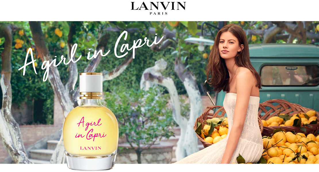 Lanvin A Girl in Capri fragrance